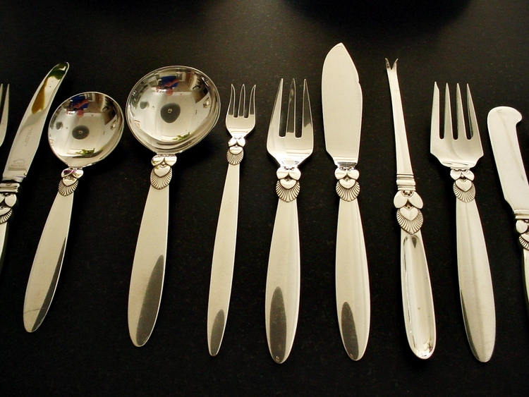 Georg Jensen Flatware Sets