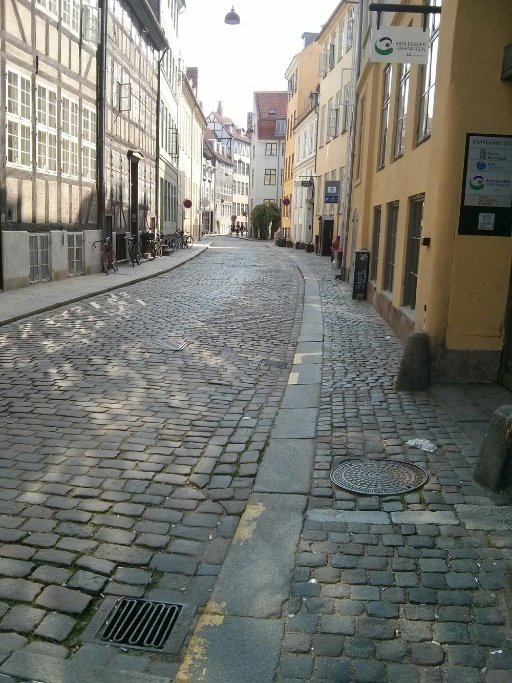 just a lovely pieceful street in the heart of copenhagen