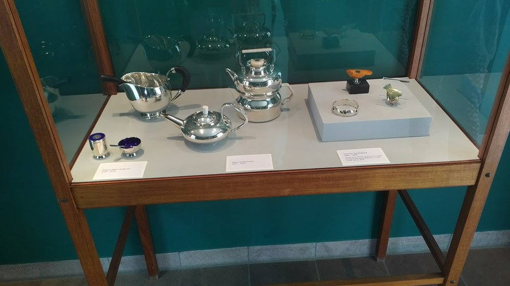 a gem of a museum,  bornholms kunstmuseum , i found a small group of good danish silver and jewelry, a must visit.