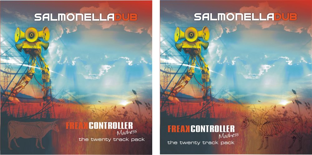 Freak Controller MADNESS the twenty track pack >>> fresh Salmonella Dub