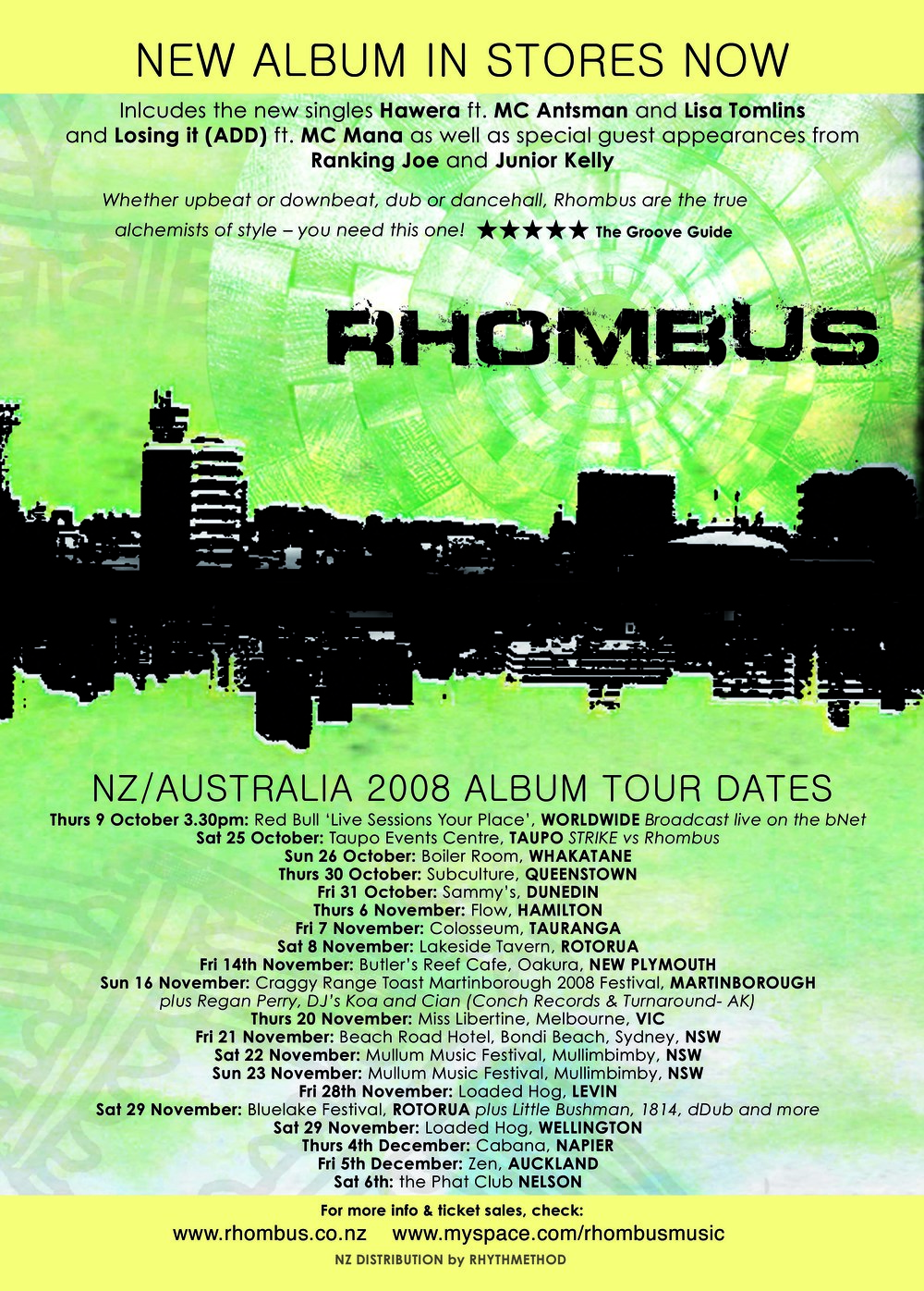 Rhombus >>> band | project production & design