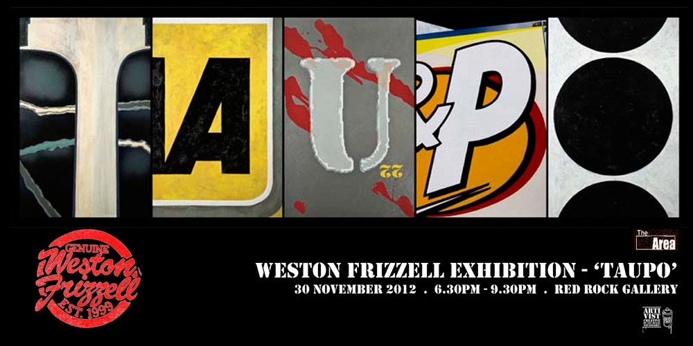 Weston Frizzell Exhibition - 'TAUPO'
