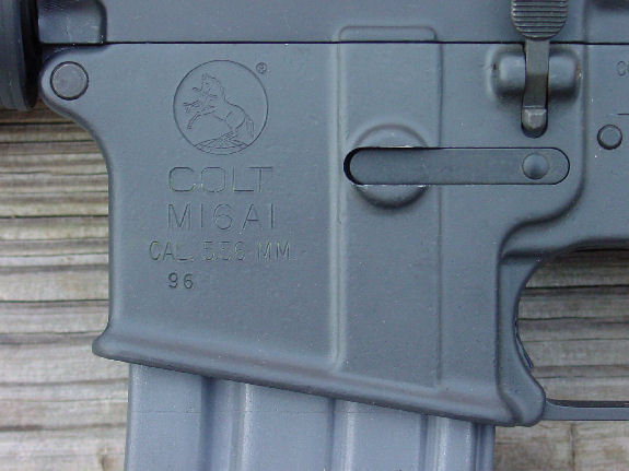 VK1-274 COLT M16A1 FACTORY 5.56mm SELECT FIRE LMG TYPE MACHINE GUN