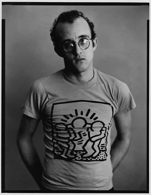... some subway & black & white Keith Haring