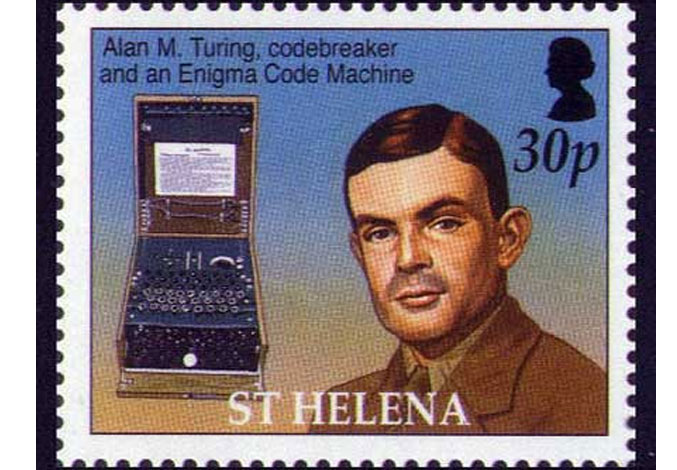 Alan Mathison Turing - the man who thought of the computer...