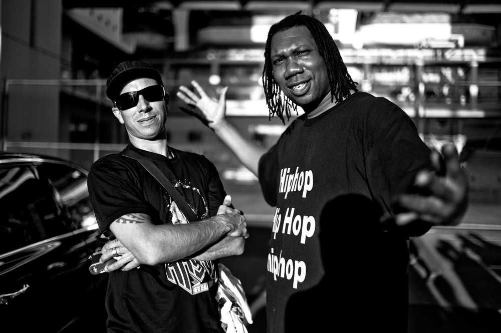 Jos Wheeler & KRS ONE - who else?!?