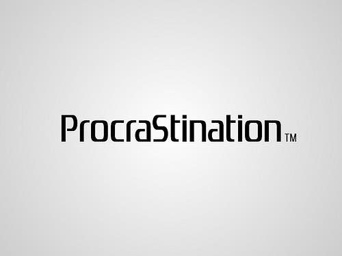 Procrastination - the thief of time