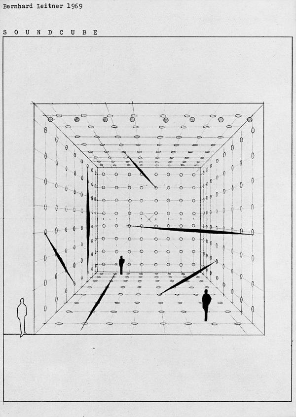 Bernhard Leitner's Soundcube, 1969