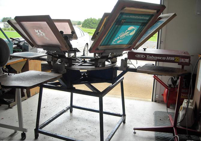 fresh venture... screen print shop <<< artistic & graphic prints