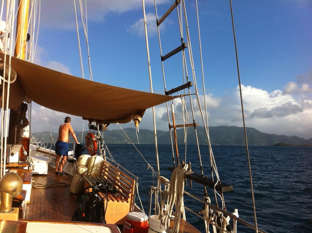 On Deck Liberty Star
