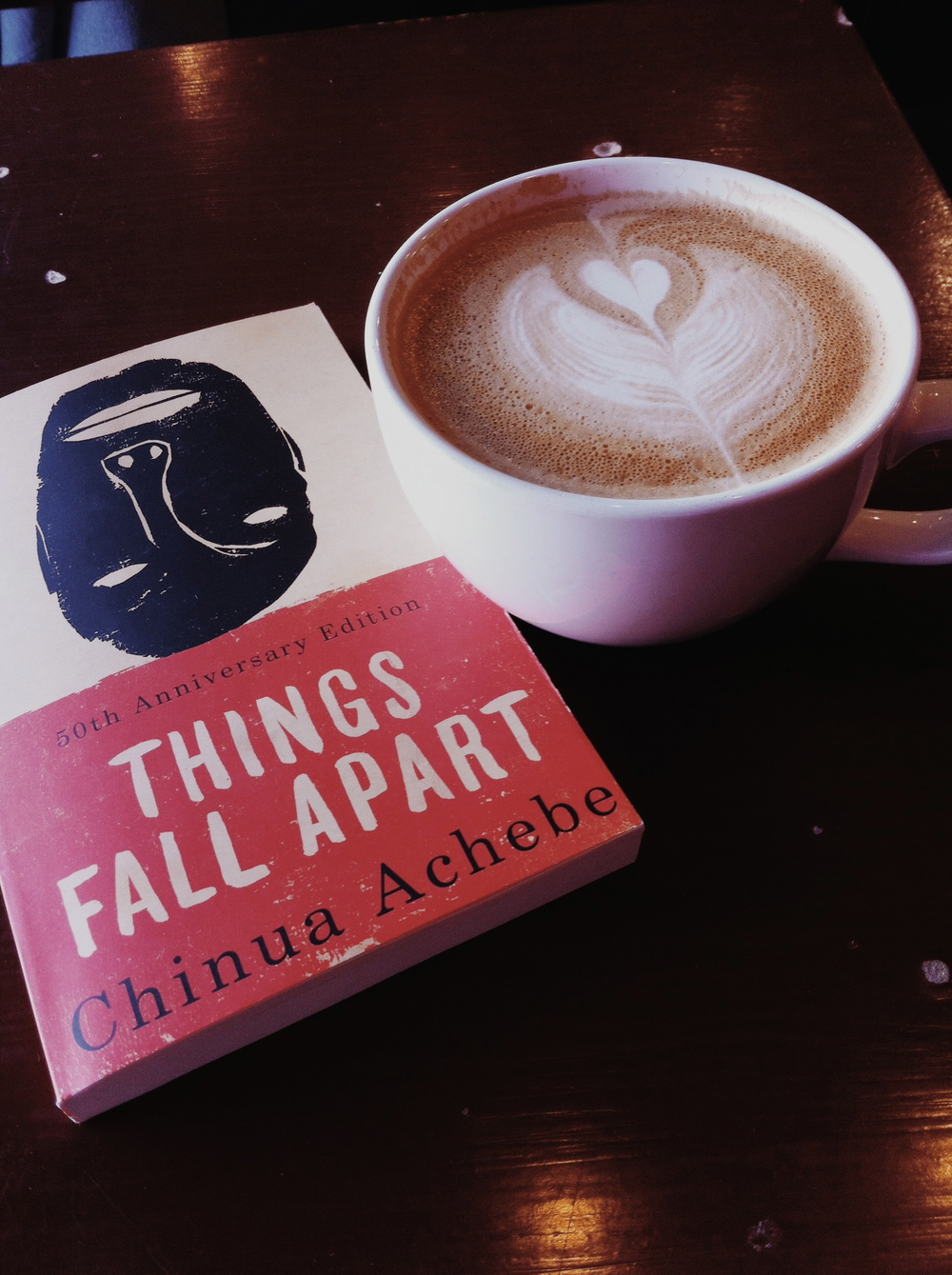 Things Fall Apart and Mars Cafe Lattes (reading for class)