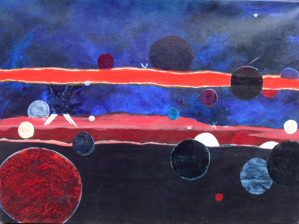Landscape - Acrylic on Canvas