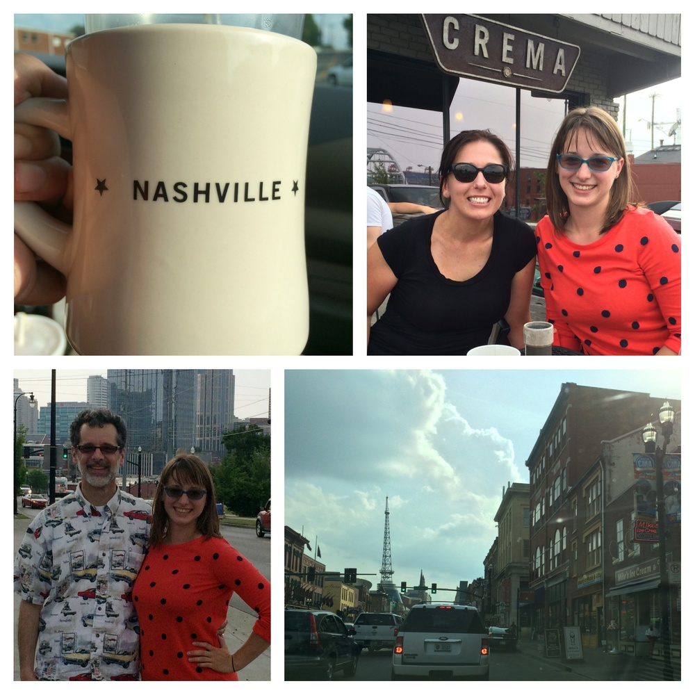 Stop in Nashville, coffee with JBs family!