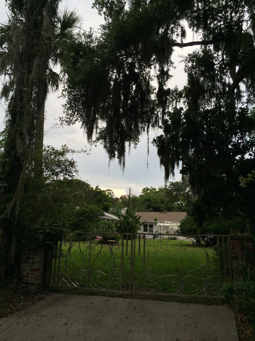 Walking around St. Augustine
