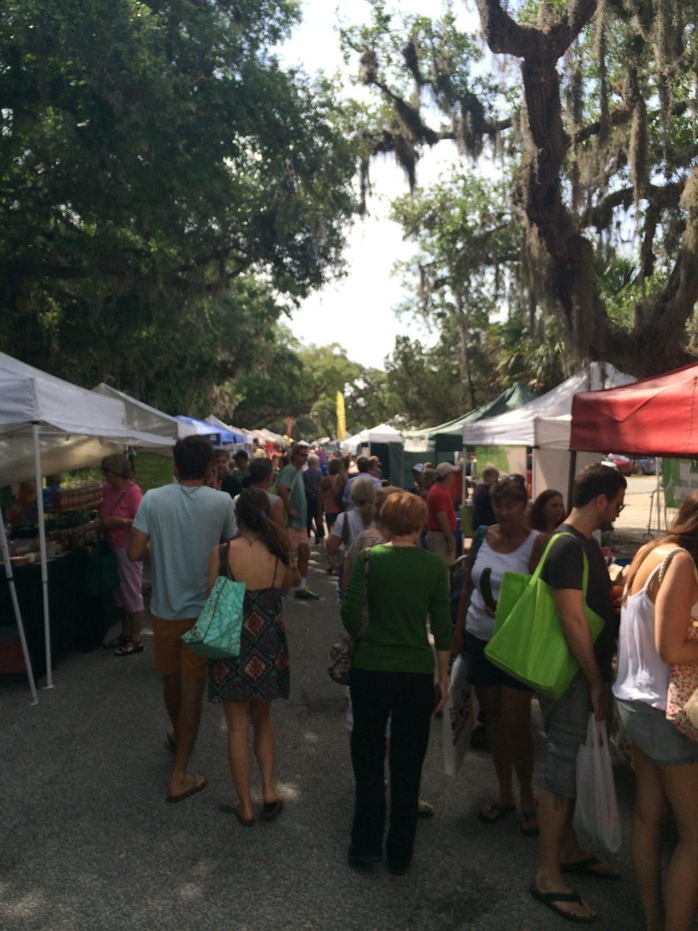 St. Augustine Farmers Market at the Amphitheater