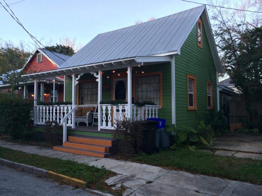 Cute as a button houses in Saint Augustine
