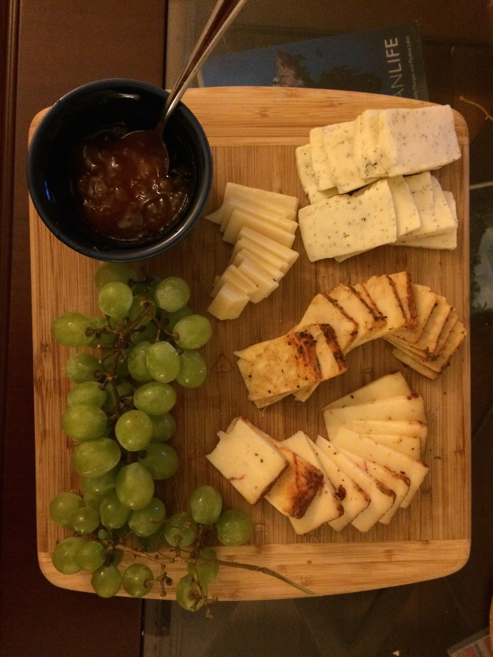 Big fans of the cheese plate lately.