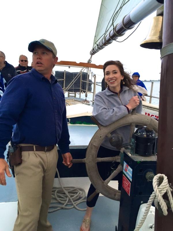Captain Jon and Captain Adrienne