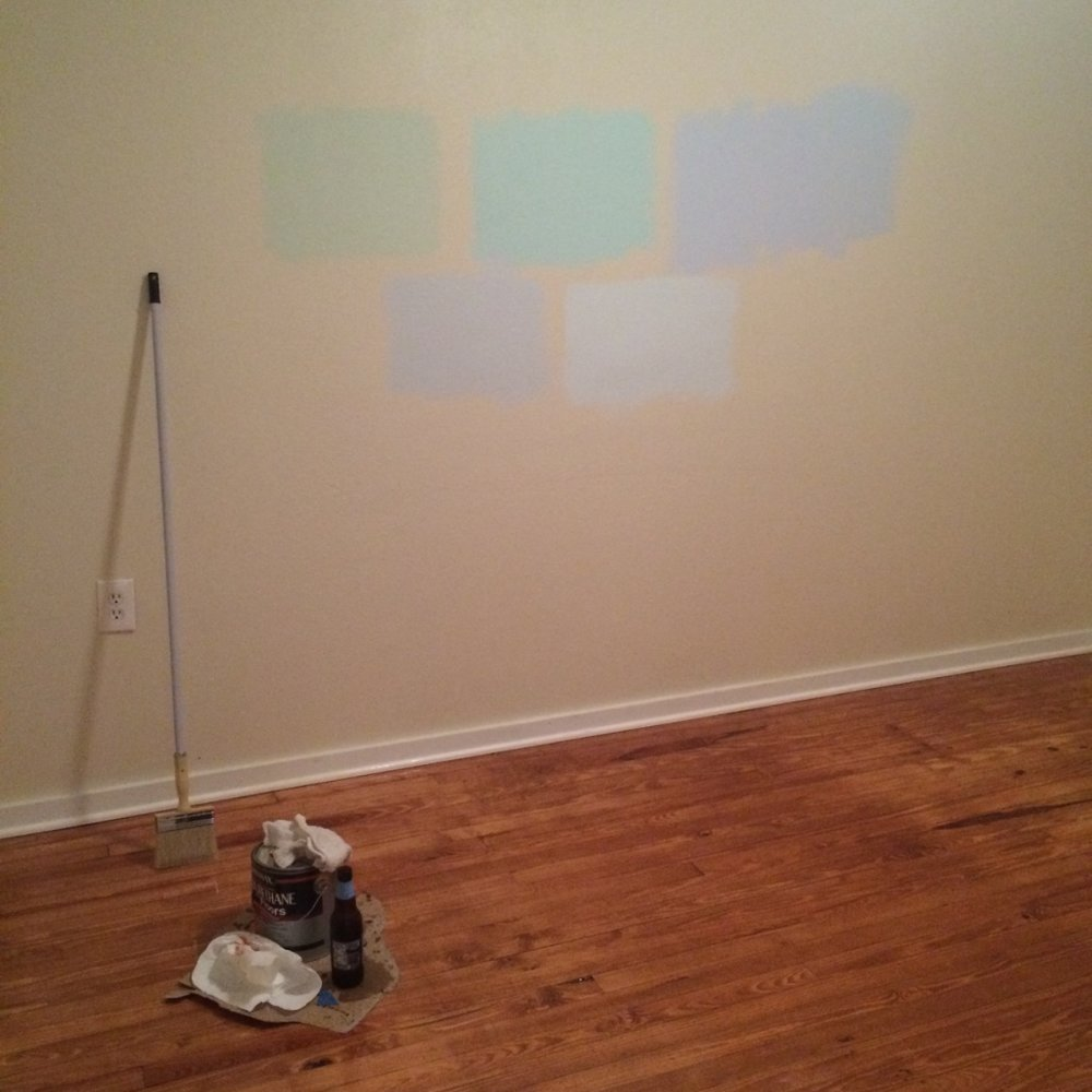 Bedroom paint color deliberations..