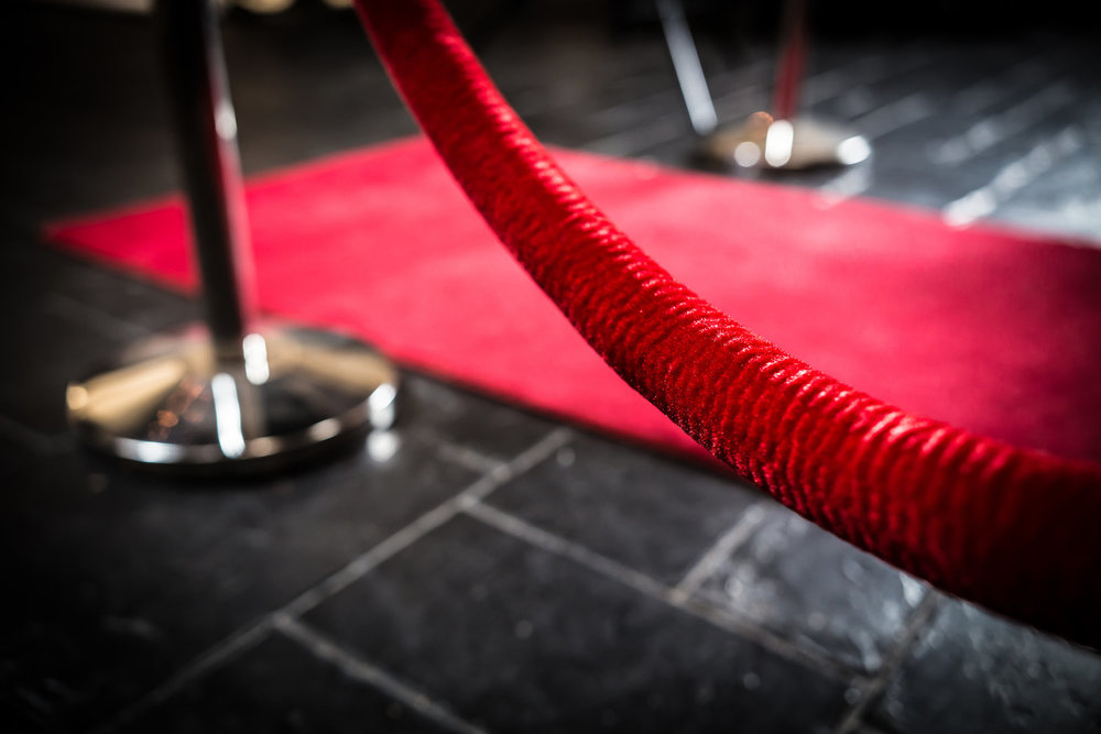 red carpet -