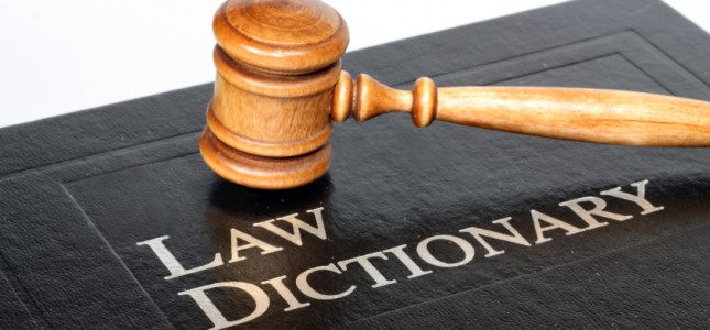 LEGAL TERMINOLOGY CAN BE OVERWHELMING TO THOSE UNFAMILIAR WITH THE JUSTICE SYSTEM