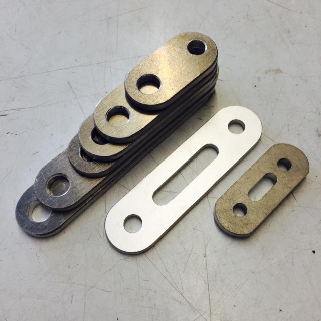 Elite alloy brackets, Elite lightweight brackets