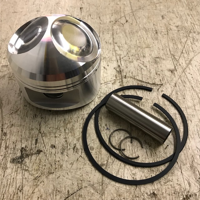 Piston complete standard and oversizes