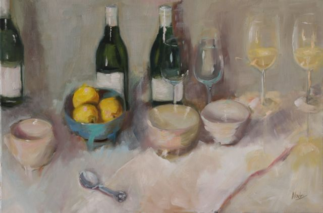 Catered Affair 24x36 SOLD