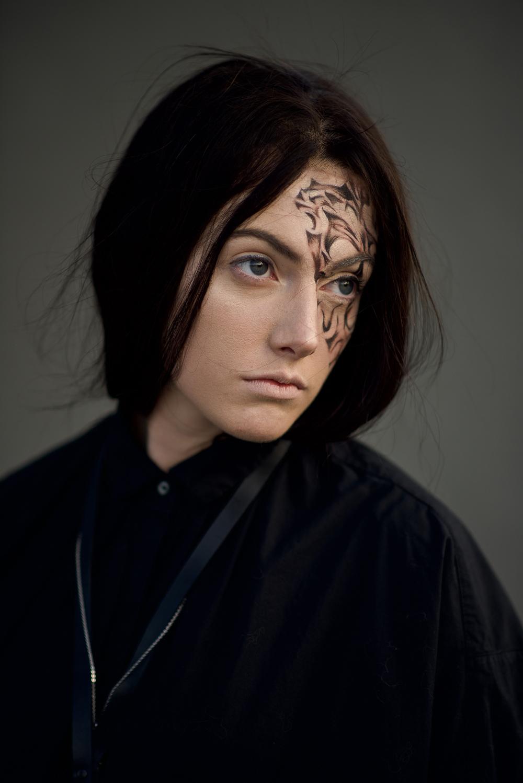 Goth.  model:  Frances Smith .