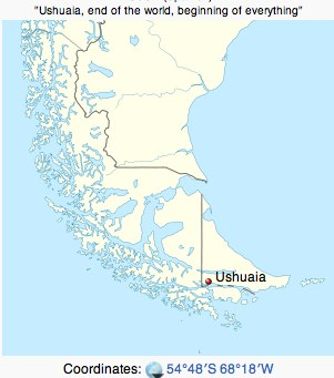 Ushuaia - End of the world, beginning of everything