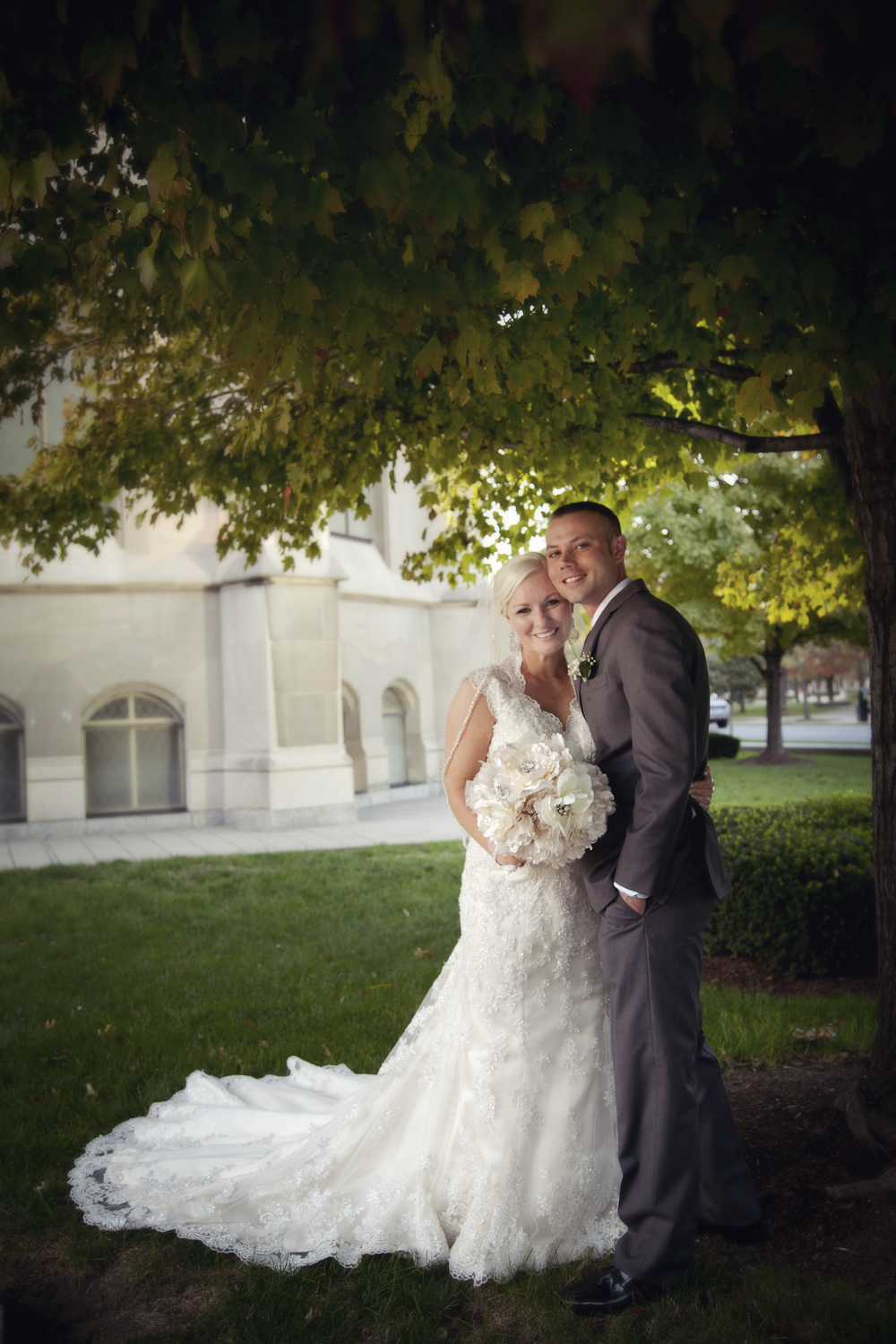 Indianapolis-Indiana-Scottish-Rite-Cathedral-Wedding-Photographer-Crowes-Eye-Photography-Bride-and-Groom-Shade-Tree.jpg