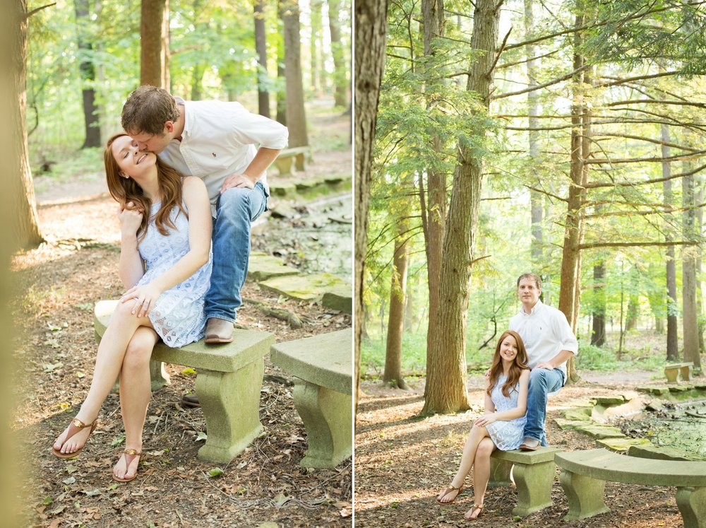 Eagle Creek Park, Engagement Session