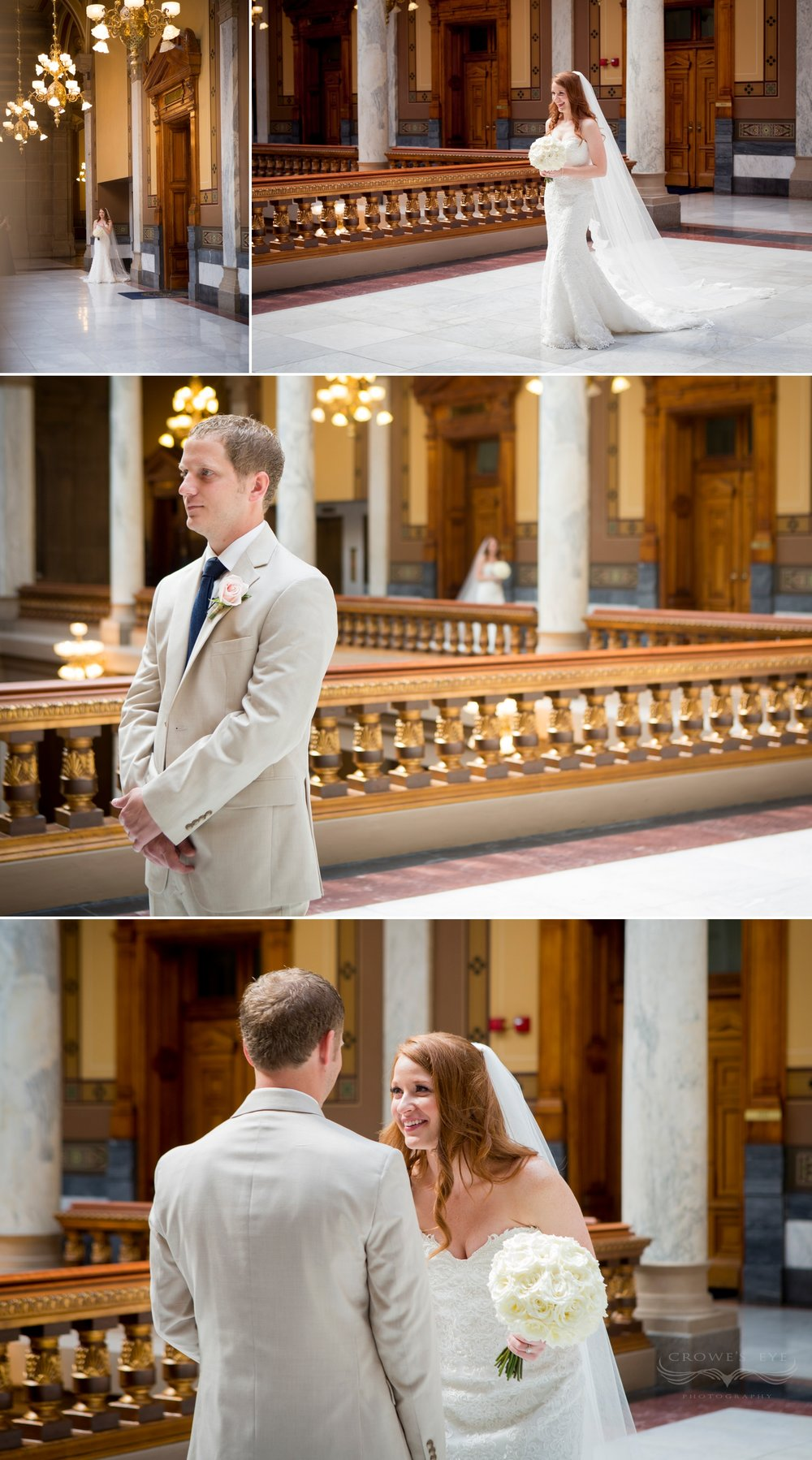 Indiana State House wedding