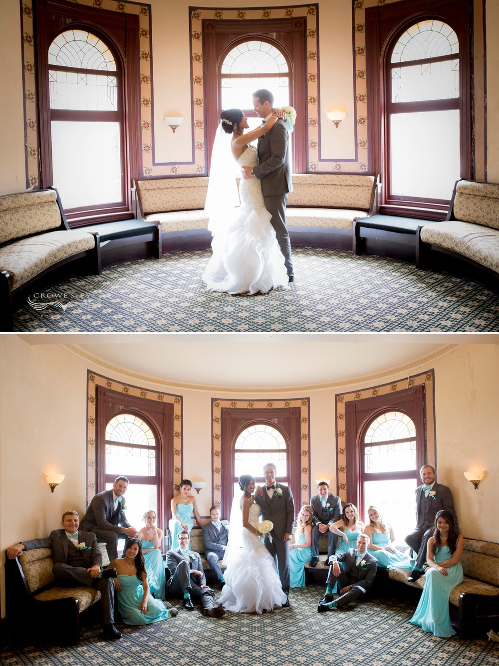 Crowne Plaza Indianapolis Wedding