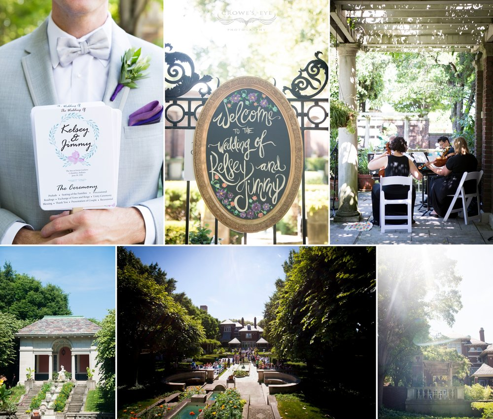 Irwin Gardens Columbus Indiana Weddings
