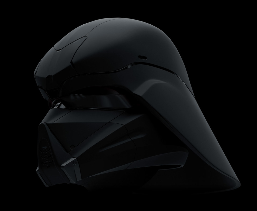 Darth Vader helmet modernized - personal work. Modeled and rendered in Modo.