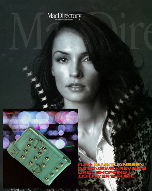 An Aneta Genova iPod case featured in Mac Directory
