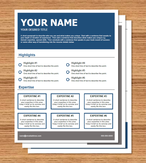 microsoft resume template