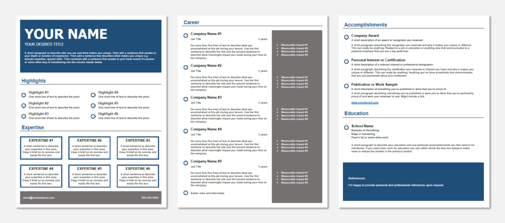 resume templates the best resume format and how to build it in