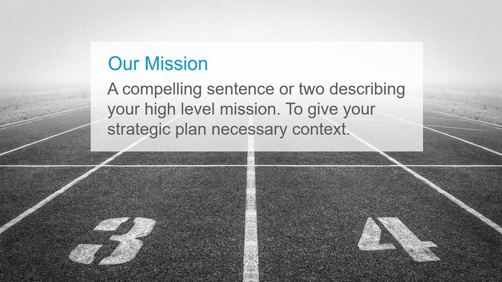 My Favorite Strategic Planning Template Brendan Reid