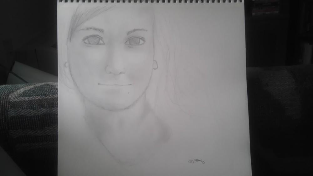 Untitled Sketch (Vesta Suicide) March 15, 2013