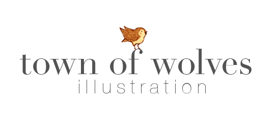 Town of Wolves Illustration