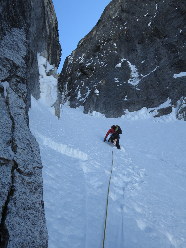 Eric Halfway up Freezy Nuts