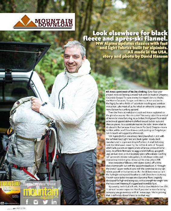 Mountain Magazine Profile