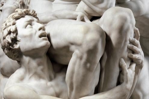 Ugolino and His Sons  , modeled ca. 1860–61, executed in marble 1865–67