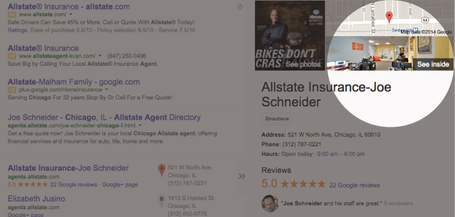 SEE JOE SCHNEIDER'S SEARCH RESULTS ON GOOGLE
