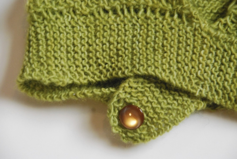 A snippet of a picture from my first design in  What (Else) Would Madame Defarge Knit?