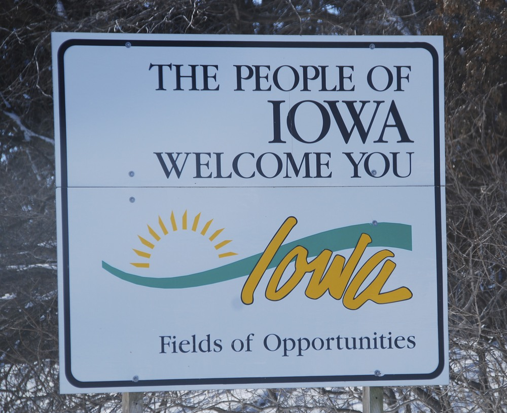 It took awhile to find them, but once I did, the people of Iowa were very nice.