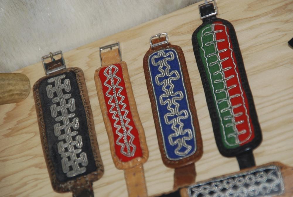 Sámi tin bracelets