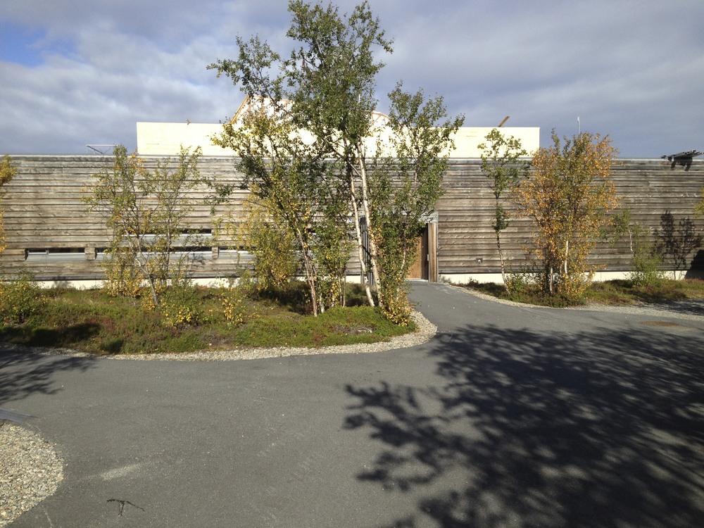 Øst-samiske museum in Neiden, Norway